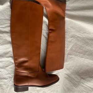 """J. Crew Size 7 Leather Lining Boots Heel 1.25"""""""